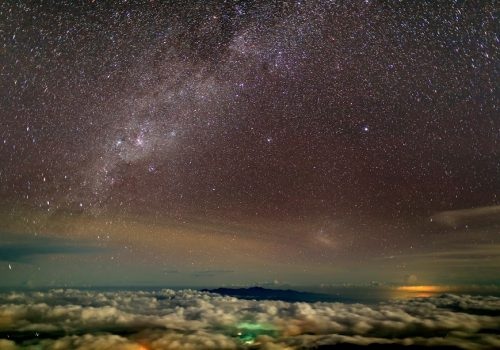 SSL - Night Sky View from Mount Kinabalu - byAlexander